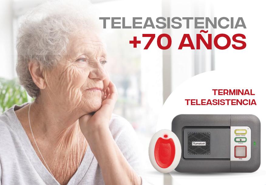 Campaña «Teleasistencia mayores de 70» – Castilla-La Mancha 2020