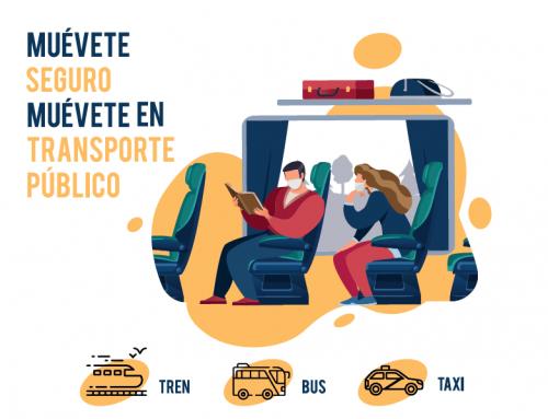 Campaña «Transporte Público Seguro» – Castilla-La Mancha