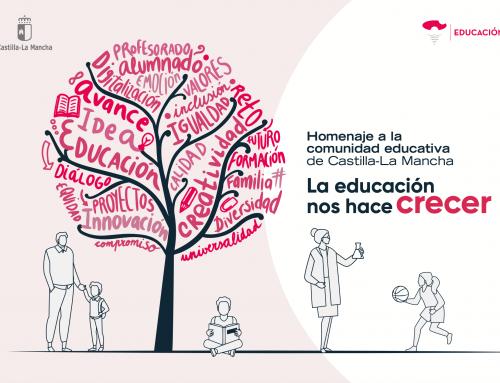 Homenaje a la comunidad educativa de Castilla-La Mancha 2021
