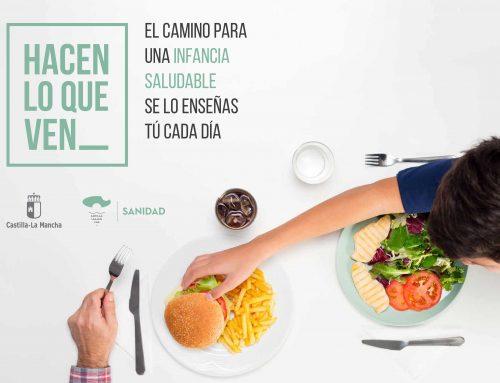 Campaña de Prevención Obesidad Infantil Castilla – La Mancha 2018