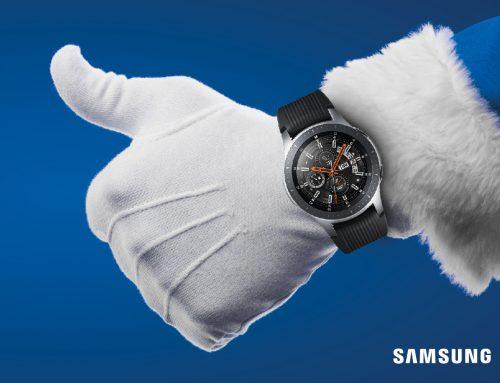 Campaña Navidad PLV Samsung Vodafone