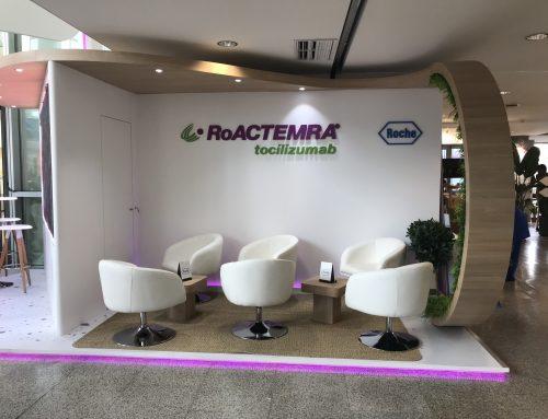 Stand Roche – RoActemra Congreso SER Valencia 2019